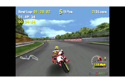 Moto Racer World Tour - Gameplay PSX (PS One) HD 720P ...