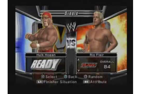 WWE Smackdown vs Raw 2006 gameplay (ps2) - YouTube
