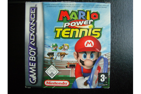 Mario Power Tennis Game Boy Advance - Nintendo Museum