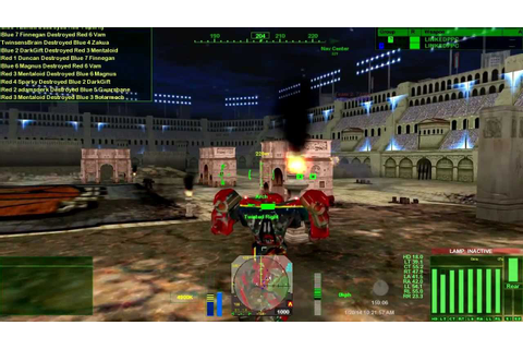 Mechwarrior 4: Mercenaries - MekTek MekPak 3.1 - Gameplay ...