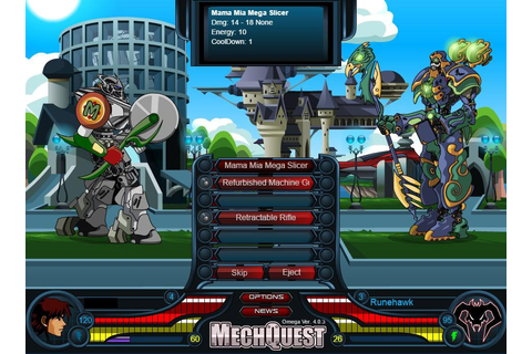 MechQuest Review - MMO Square