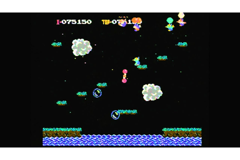 CGR Undertow - BALLOON FIGHT for NES Video Game Review ...