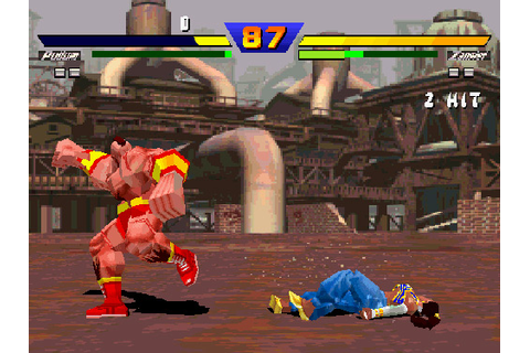 Bad Transition to 3D - Street Fighter EX (Arcade / PS1)