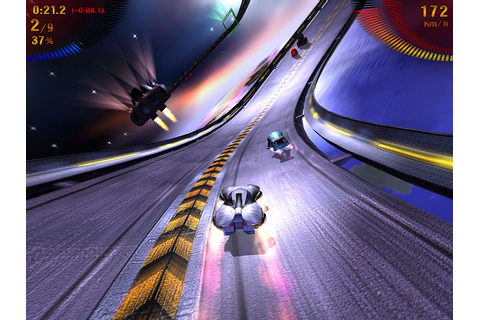 Space Extreme Racers Free Game Screenshot 2 - GameHitZone