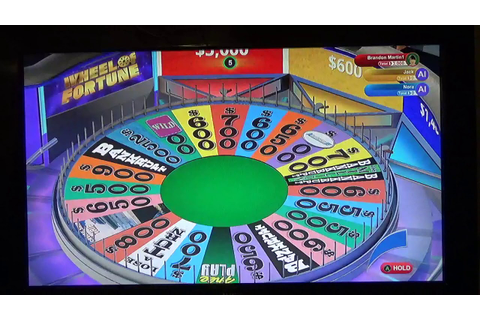 Wheel Of Fortune Game 1 On Xbox One - YouTube