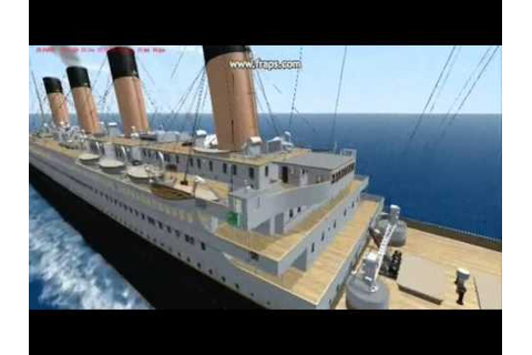 virtual sailor Titanic part 1 - YouTube