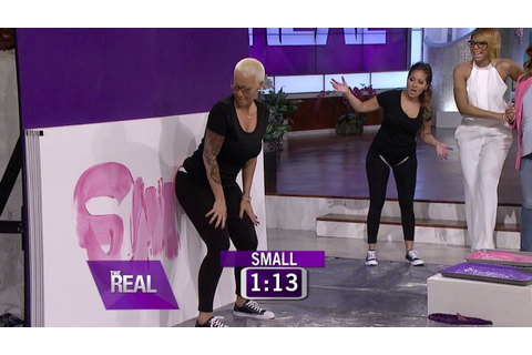 Amber Rose Plays a Game of Butt What ...
