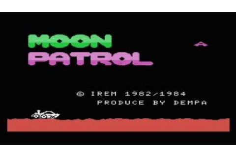 Moon Patrol gameplay (PC Game, 1983) - YouTube