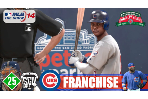 MLB 14: The Show (PS4) Chicago Cubs Franchise - EP25 (NLDS ...