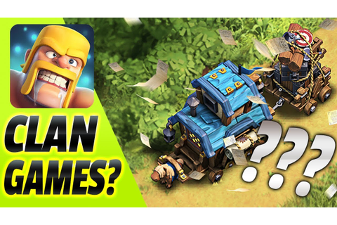 CLASH OF CLANS ANNOUNCES NEW WINTER UPDATE: CLAN GAMES ...