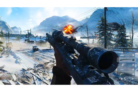 Battlefield V Multiplayer Gameplay - YouTube