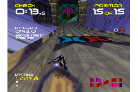 Wipeout 64 Screenshots | GameFabrique