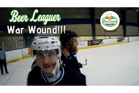 GoPro Hockey • War Wound!!! - YouTube