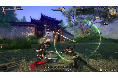 Age of Wushu - Free Multiplayer Online Games