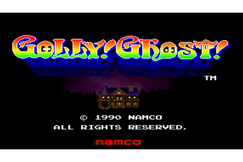 Golly! Ghost! - Arcade Light Gun Game (Namco 1990) - YouTube