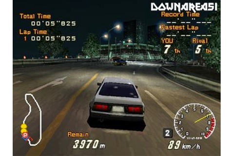 Racing Lagoon PS1 ISO - Download Game PS1 PSP Roms Isos ...