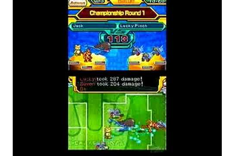 Digimon World Championship Nintendo DS Gameplay - Getting ...