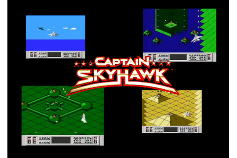 Controllerhead: Nintendo Game Captain Skyhawk is awesome!