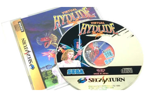 Virtual Hydlide for Saturn (import) | PJ's Games