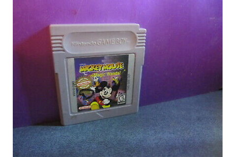 Disney's Mickey Mouse: Magic Wands (Nintendo Game Boy ...