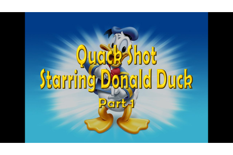 Quack Shot Starring Donald Duck (Sega) Part 1 - YouTube