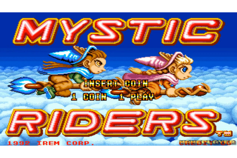 Mystic Riders Loop1 1992 Irem Mame Retro Arcade Games ...