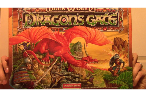 Matt's Boardgame Review Episode 96: Dark World: Dragon's ...