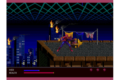 Spider-Man - Web of Fire (32X) ROM