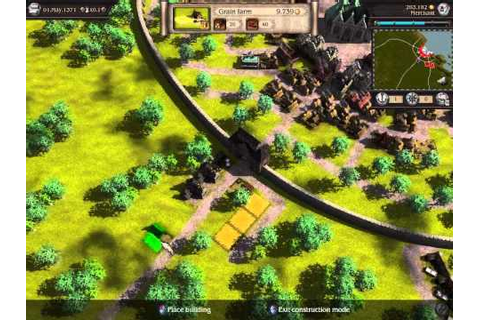 Patrician 4 Buildings PC video game trailer - YouTube