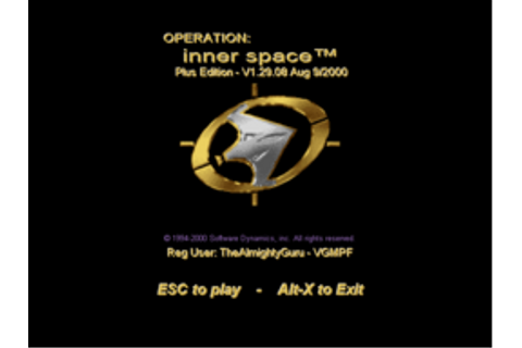 Operation: Inner Space (W16) - Video Game Music ...