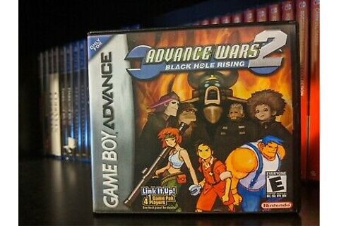 Advance Wars 2: Black Hole Rising GBA *Preowned authentic ...