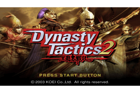 Dynasty Tactics 2 (USA) ISO