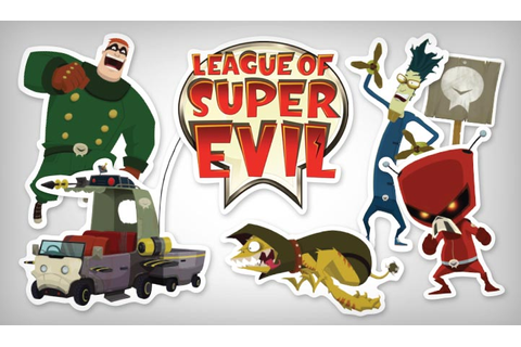League of Super Evil Stickers Art | StickerYou Products ...