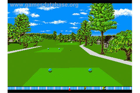 True Golf Classics: Pebble Beach Golf Links - Sega Genesis ...