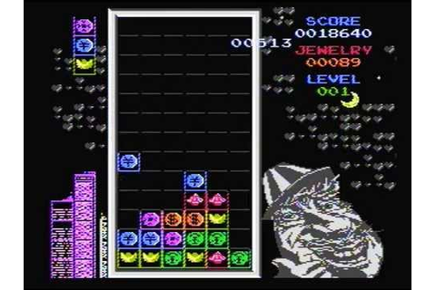 Coin Tetris (Magic Jewelry Famicom hack) - alternate music ...