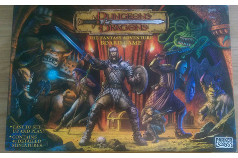 Dungeons & Dragons - The Fantasy Adventure Board Game ...