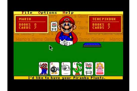 Mario's Game Gallery - YouTube