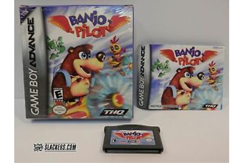 Banjo-Pilot (Nintendo Game Boy Advance 2005) COMPLETE IN ...