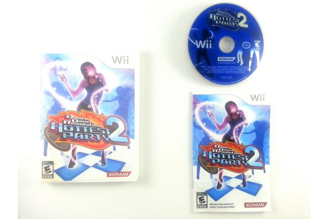 Dance Dance Revolution Hottest Party 2 game for Wii ...