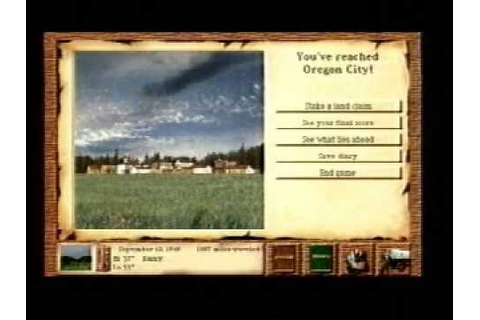 Oregon Trail II (1995) PC educational game trailer - YouTube