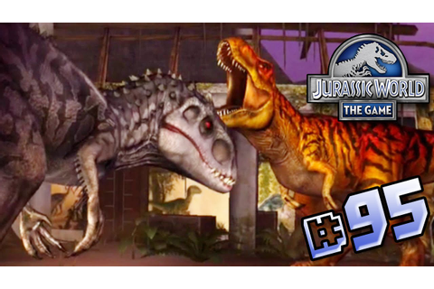 T.rex Event!! || Jurassic World - The Game - Ep 95 HD ...