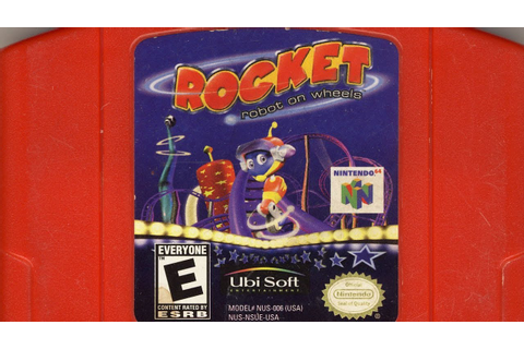 Classic Game Room - ROCKET: ROBOT ON WHEELS review for N64 ...