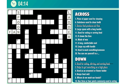 Game of the day Casual Crossword Casual Crossword is one ...