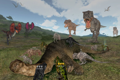 "New dinosaur game ""Dinos Online"" released 