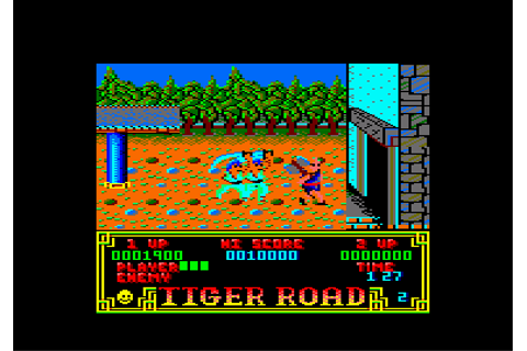 Download Tiger Road - My Abandonware