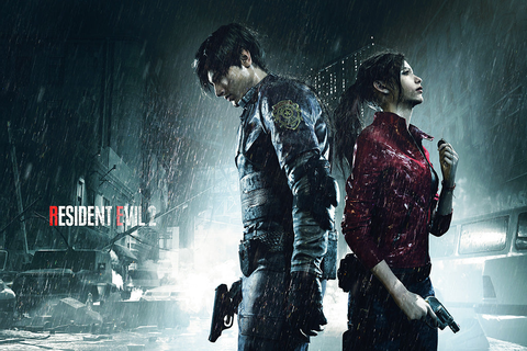 Resident Evil 2 Remake Video Game Poster – My Hot Posters