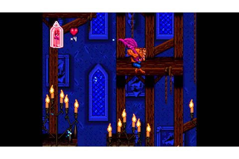 Disney's Beauty and the Beast (SNES) - Part 1: Stages 1 ...