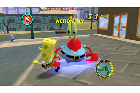 Spongebob Game The Simpsons Hit And Run - YouTube