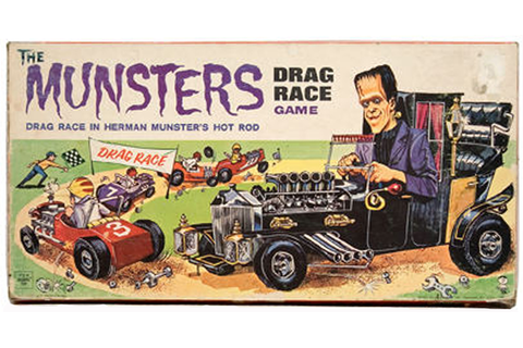 BEN VON STRAWN'S MONSTER KORNER: the MUNSTERS DRAG RACE ...