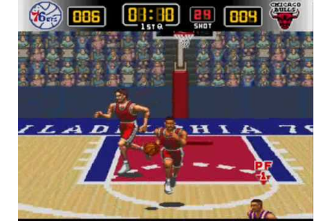 Super Nintendo - NBA Give 'n Go (1995) - YouTube